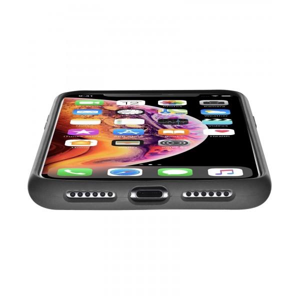 Cellularline iPhone Xs Max hoesje sensation zwart