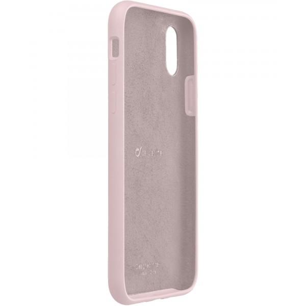 Cellularline iPhone Xs Max hoesje sensation roze
