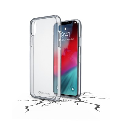 iPhone Xr housse clear duo transparent Cellularline