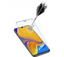 Samsung Galaxy A70 SP gehard glas capsule zwart Cellularline