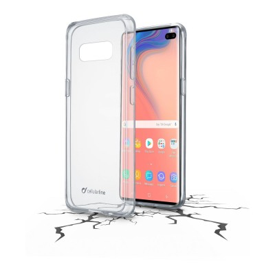 Samsung Galaxy S10 Plus hoesje clear duo transparant Cellularline