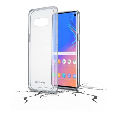 Samsung Galaxy S10 housse clear duo transparent Cellularline