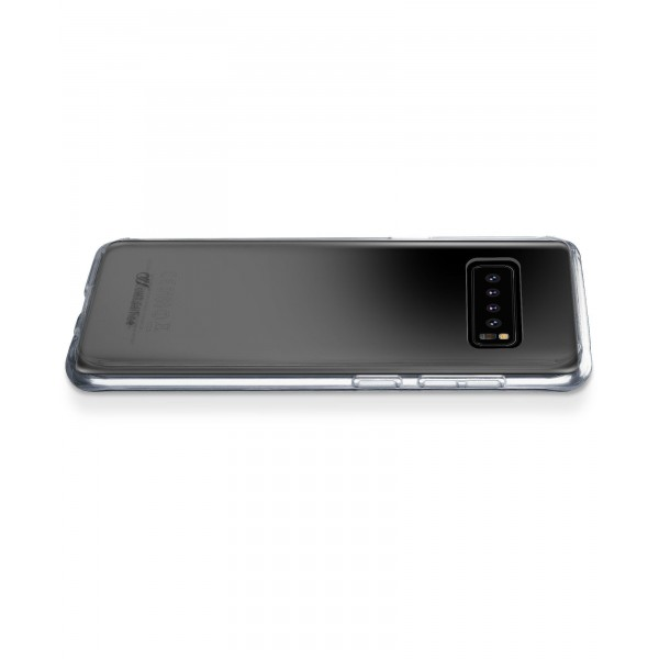 Cellularline Samsung Galaxy S10 hoesje clear duo transparant
