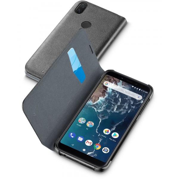 Cellularline Xiaomi Mi A2 hoesje book zwart