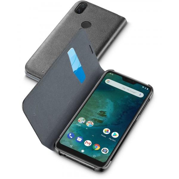 Cellularline Xiaomi Mi A2 Lite hoesje book zwart