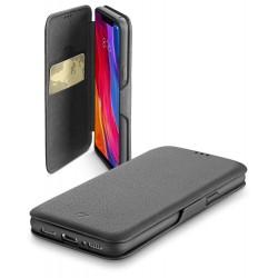 Xiaomi Mi 8 hoesje book clutch zwart