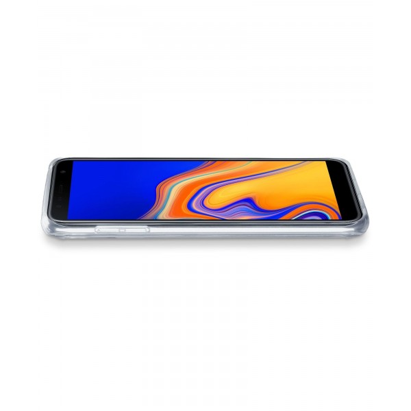 Cellularline Samsung Galaxy J4 Plus (2018) hoesje clear duo transparant