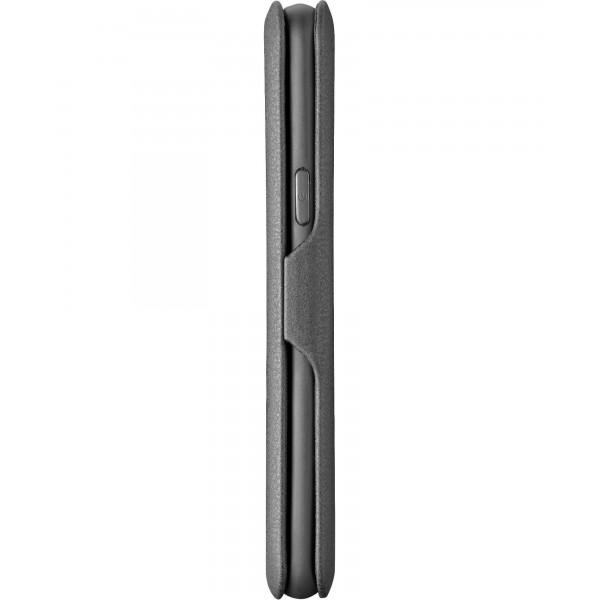 Cellularline Samsung Galaxy A7 (2018) hoesje book clutch zwart