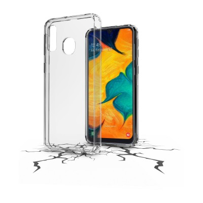 Samsung Galaxy A40 hoesje clear duo transparant Cellularline