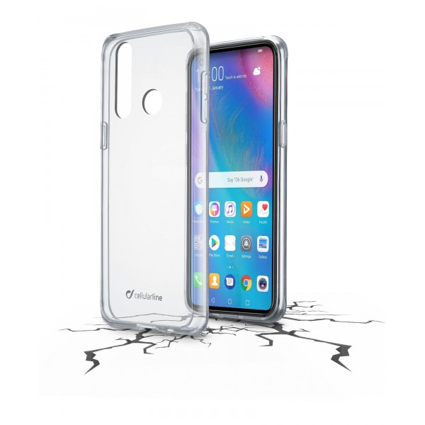 Cellularline Smartphonehoesje Huawei P30 Lite/P30 Lite new edition hoesje clear duo transparant