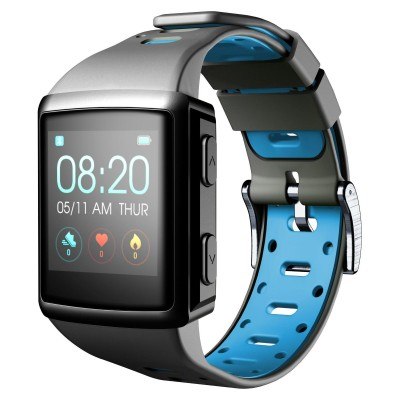 Smartwatch BT easysport hartslag zwart Cellularline