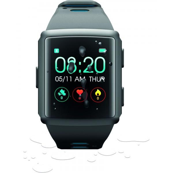 Cellularline Smartwatch Smartwatch BT easysport hartslag zwart