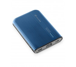 Draagbare lader powertank 5000mAh usb-c blauw Cellularline