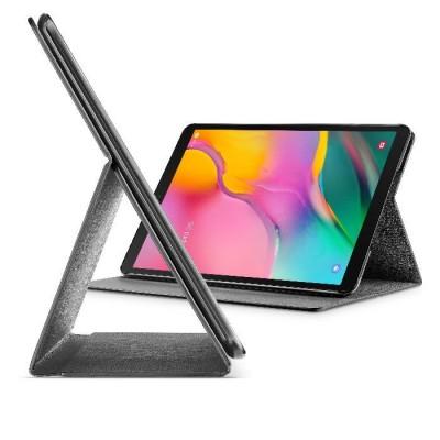 "Samsung Galaxy Tab A 10.1"" (2019) housse slim stand noir Cellularline"