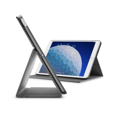 "iPad Air 105"" (2019) housse slim stand noir Cellularline"