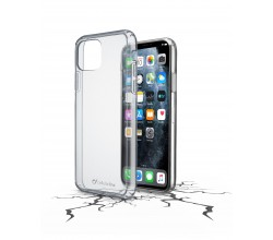 iPhone 11 Pro Max hoesje clear duo transparant Cellularline