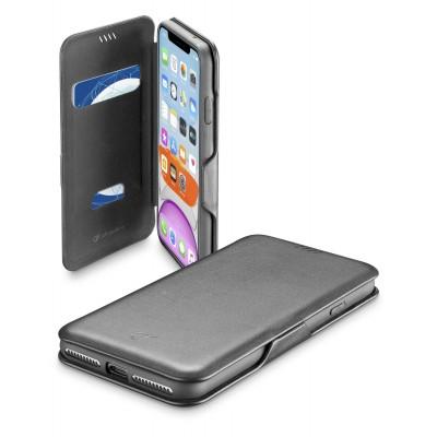 iPhone 11 hoesje book clutch zwart Cellularline