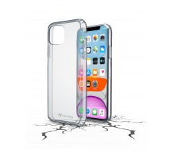 iPhone 11 hoesje clear duo transparant Cellularline
