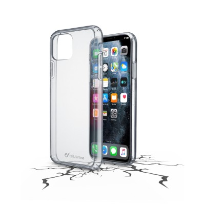 iPhone 11 Pro hoesje clear duo transparant Cellularline