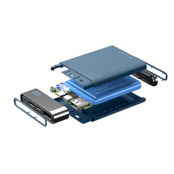 Freepower Manta HD 5000mAh Blauw Cellularline