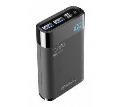 Freepower Manta HD 10000mAh Zwart Cellularline