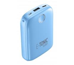 Draagbare lader e-tonic 10000mAh blauw Cellularline