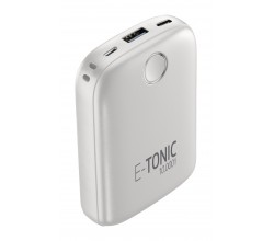 Draagbare lader e-tonic 10000mAh wit Cellularline
