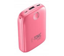 Draagbare lader e-tonic 10000mAh roze Cellularline