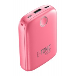 Draagbare lader e-tonic 10000mAh roze  Cellularline
