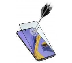 Samsung Galaxy A51 SP gehard glas capsule zwart Cellularline