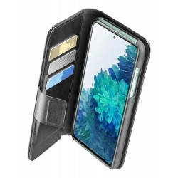 Samsung Galaxy S20 FE hoesje book agenda zwart  Cellularline