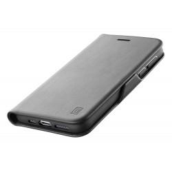 Samsung Galaxy S21 hoesje book clutch zwart  Cellularline