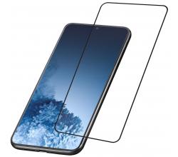 Samsung Galaxy S21 Plus SP gehard glas capsule zwart Cellularline