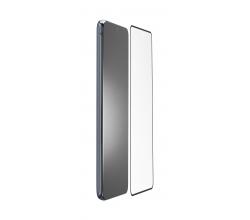 Samsung Galaxy S21 SP gehard glas antimicrobieel zwart Cellularline