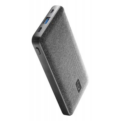 Chargeur portable shade 10000mAh PD noir Cellularline