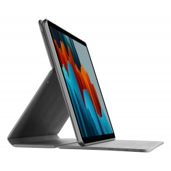 Samsung Galaxy Tab S7 Plus hoesje slim stand zwart  Cellularline