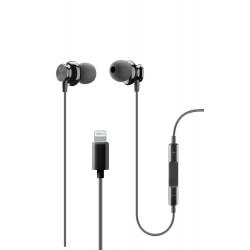 In-ear HPH junco Apple lightning zwart