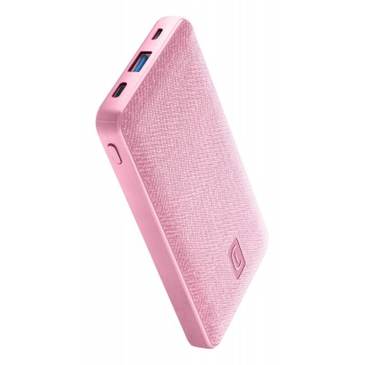 Draagbare lader shade 10000mAh PD roze Cellularline