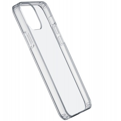 iPhone 12 Pro Max hoesje clear duo transparant Cellularline