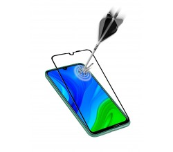 Huawei P Smart 2020 SP gehard glas capsule zwart Cellularline