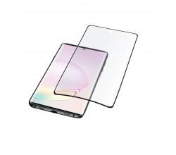 Samsung Galaxy Note 20 Ultra SP gehard glas gebogen zwart Cellularline