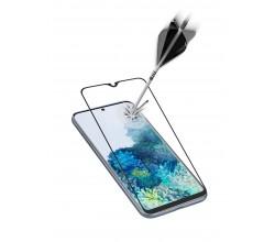 Samsung Galaxy A21s SP gehard glas capsule zwart Cellularline