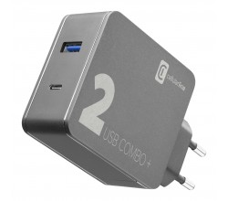 Reislader kit multipower 2 combo plus 48W usb-c laptop/MacBook/Smartphone Cellularline