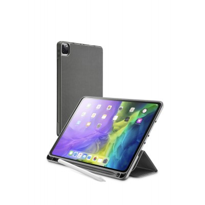 "iPad Pro 11"" (2020/2021) hoesje slim stand pencil slot zwart  Cellularline"