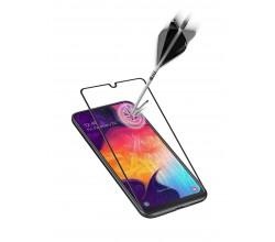 Samsung Galaxy A41 SP gehard glas capsule zwart Cellularline