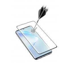 Samsung Galaxy S20 Plus SP gehard glas gebogen zwart Cellularline