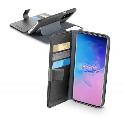 Samsung Galaxy S20 Ultra housse book agenda noir Cellularline