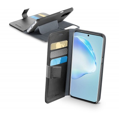 Samsung Galaxy S20 Plus hoesje book agenda zwart Cellularline