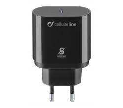 Reislader 25W PD usb-c Samsung zwart Cellularline