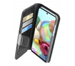 Samsung Galaxy A72 hoesje book agenda zwart Cellularline